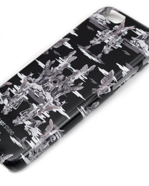 FALL OF PARADISE BLACK CAMO PHONE CASE