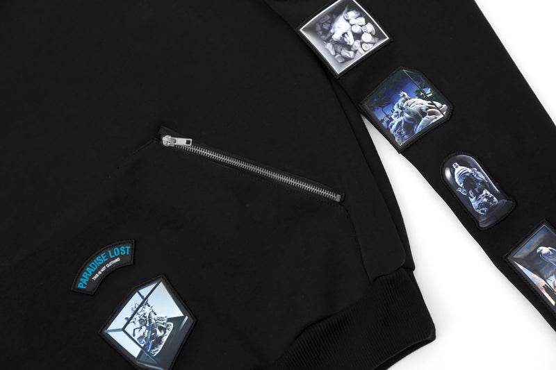 PARADISE LOST PATCHES HOODIE I