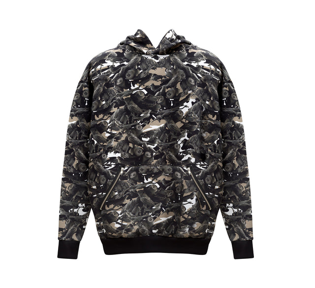 This Is Not Clothing - BIRDS OF PARADISE CAMO HOODIE