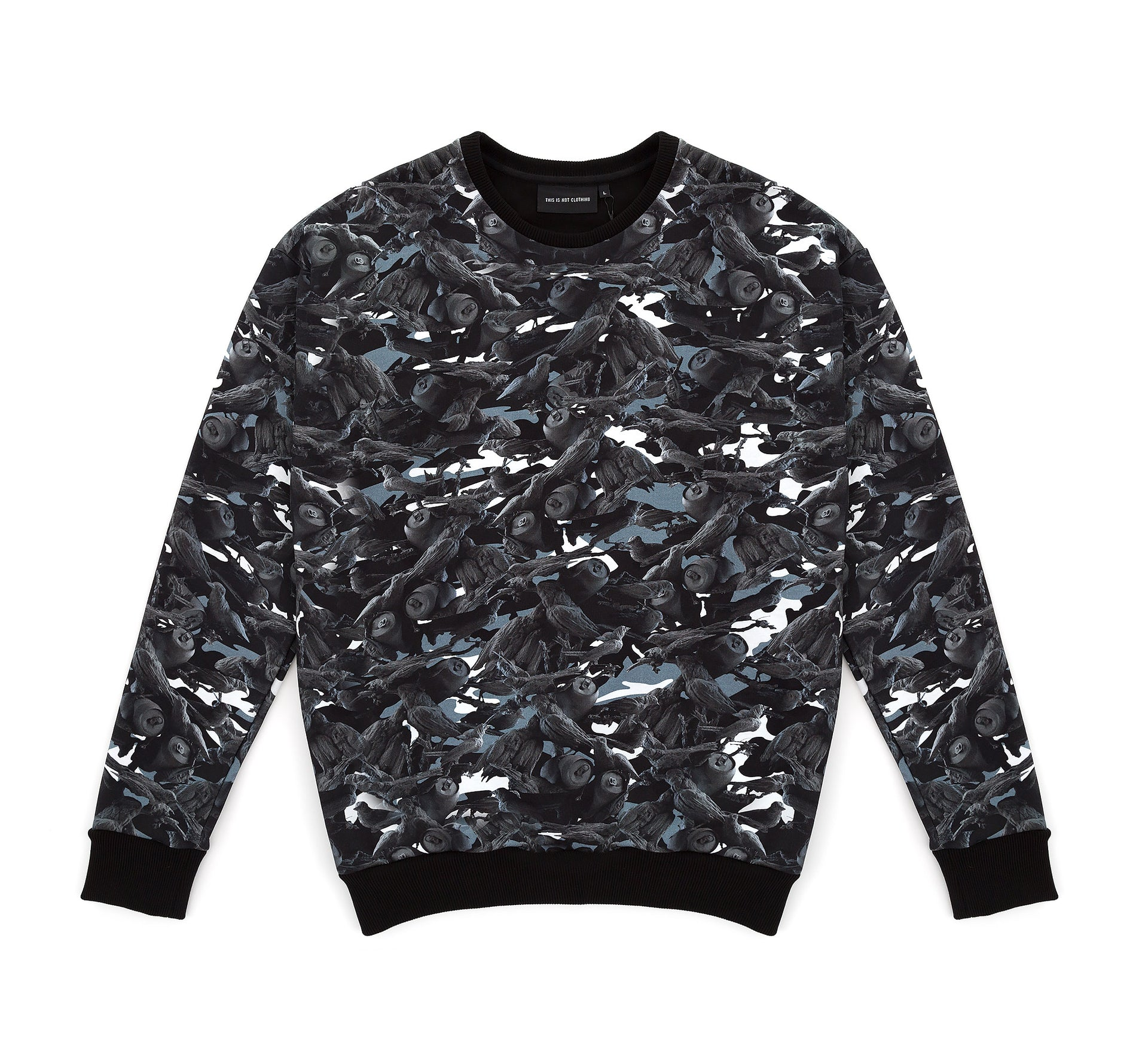 This Is Not Clothing - BIRDS OF PARADISE SWEATER CAMO