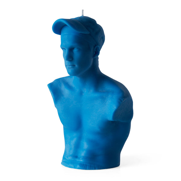 This Is Not Studio - 'David' Blue Relic Sculpture Candle