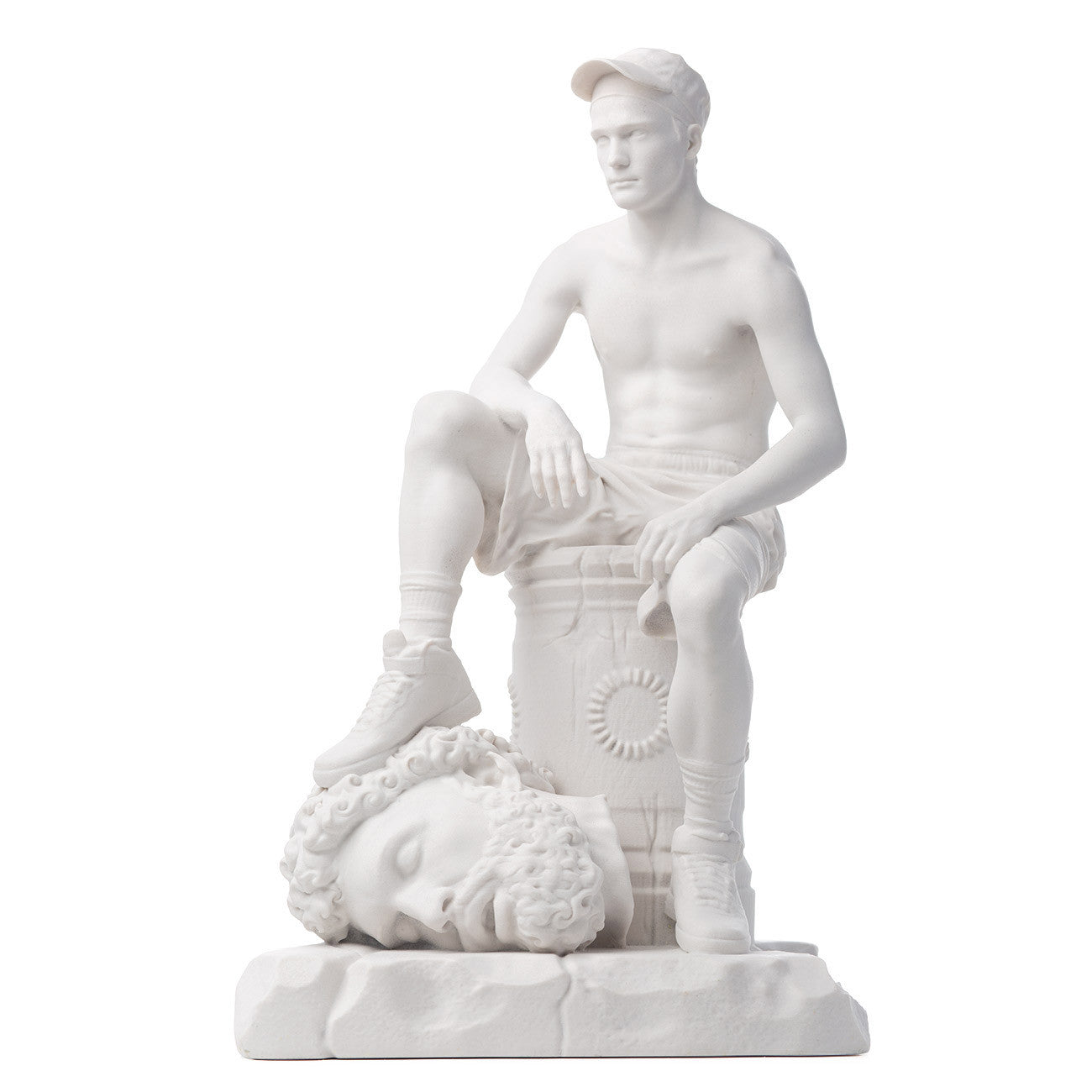 'David & Goliath' Limited Edition Marble Sculpture