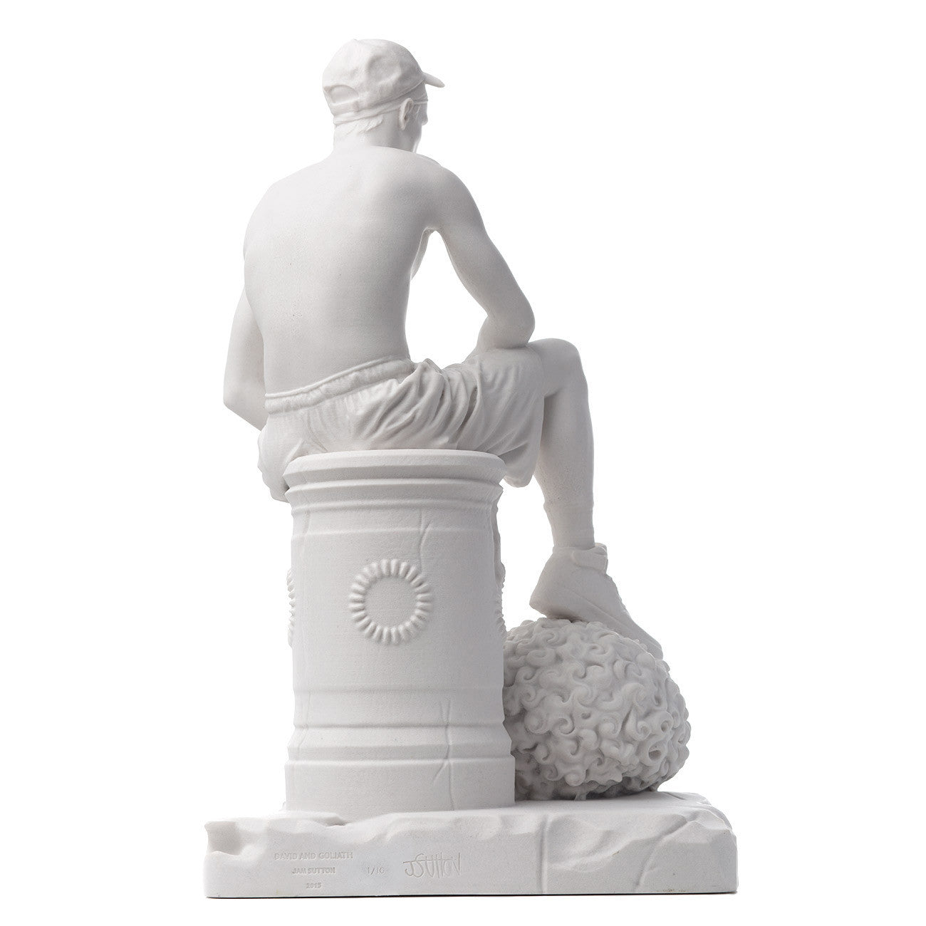 Jam Sutton -  'David & Goliath' Limited Edition Marble Sculpture