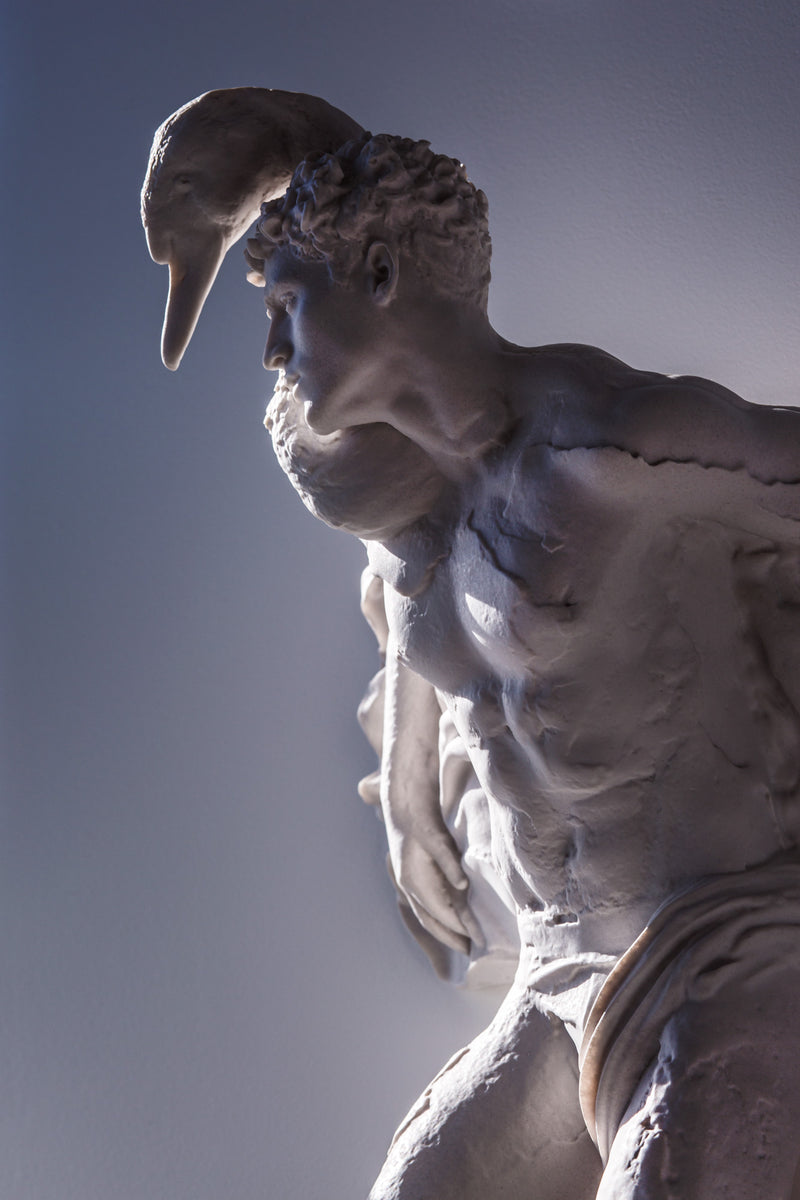 This Is Not Studio. - The Transformation of Zeus sculpture Jhona Burjack by Jam Sutton