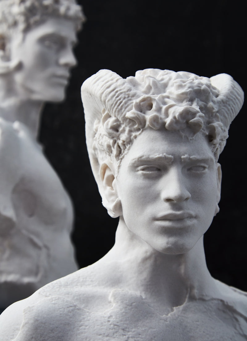 'Transformation of Zeus II' Limited Edition Marble Sculpture
