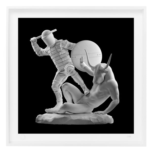 'Theseus & The Minotaur' Limited Edition Print
