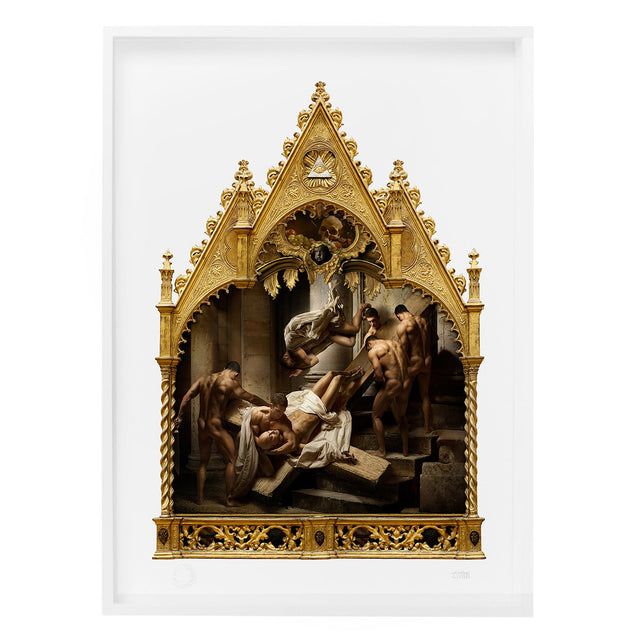 'The Marytrdom of Saint Peter' Limited Edition Print