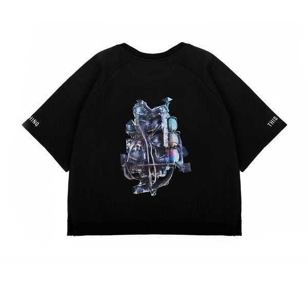 This Is Not Clothing - THE MACHINE SHORT SLEEVE SWEATER I