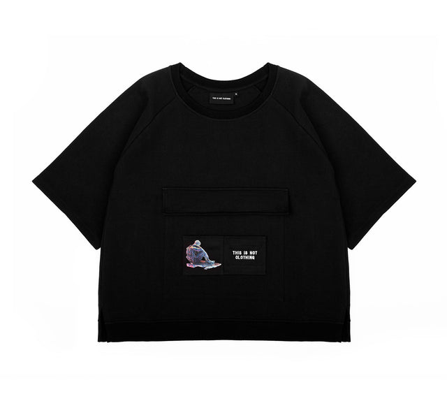 THE MACH1N3 SHORT SLEEVE SWEATER II