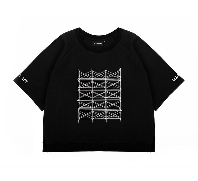 THE MACH1N3 SHORT SLEEVE SWEATER I
