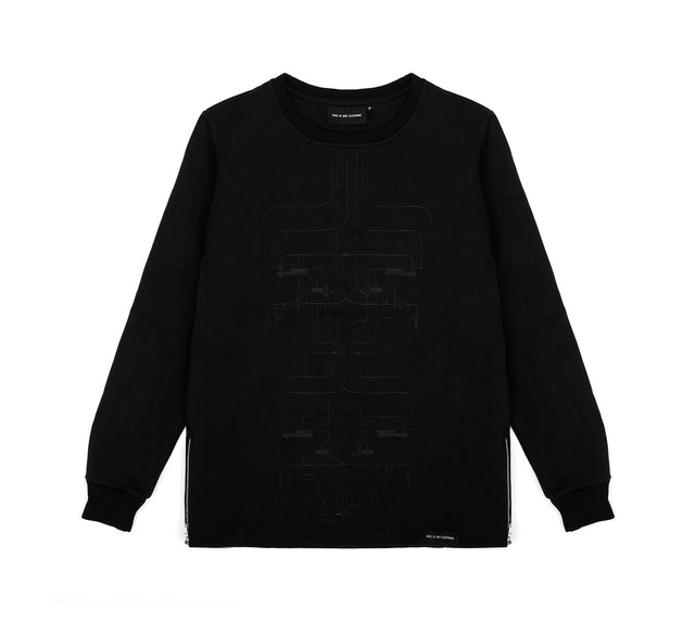 THE MACH1N3 SWEATER IV