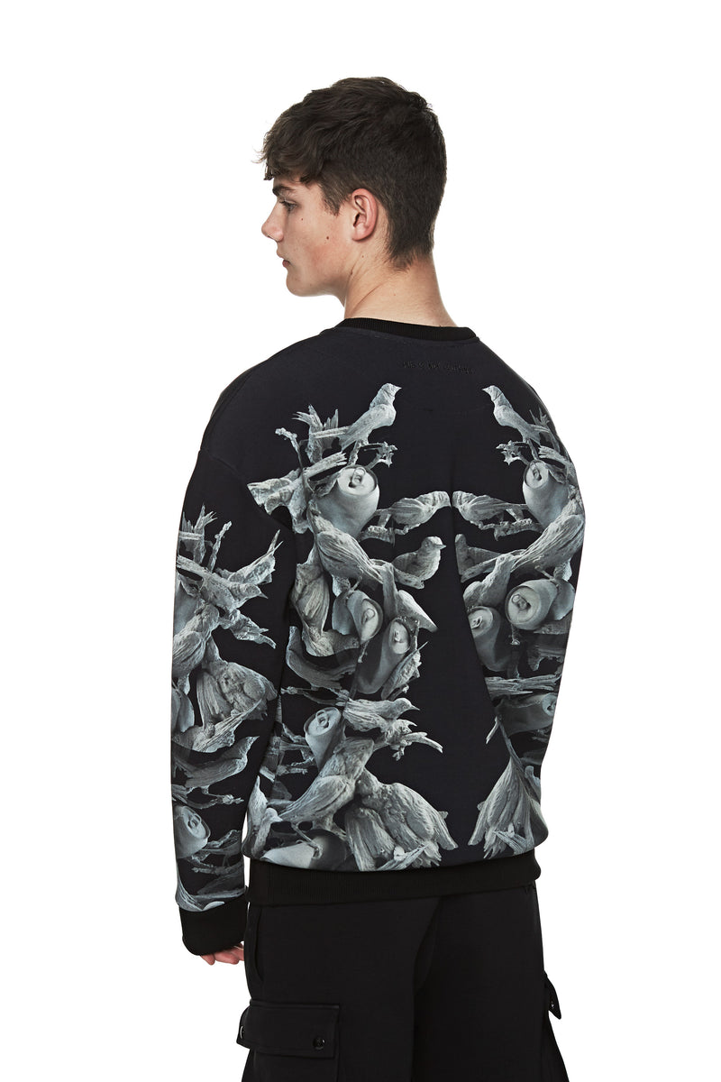 BIRDS OF PARADISE SWEATER