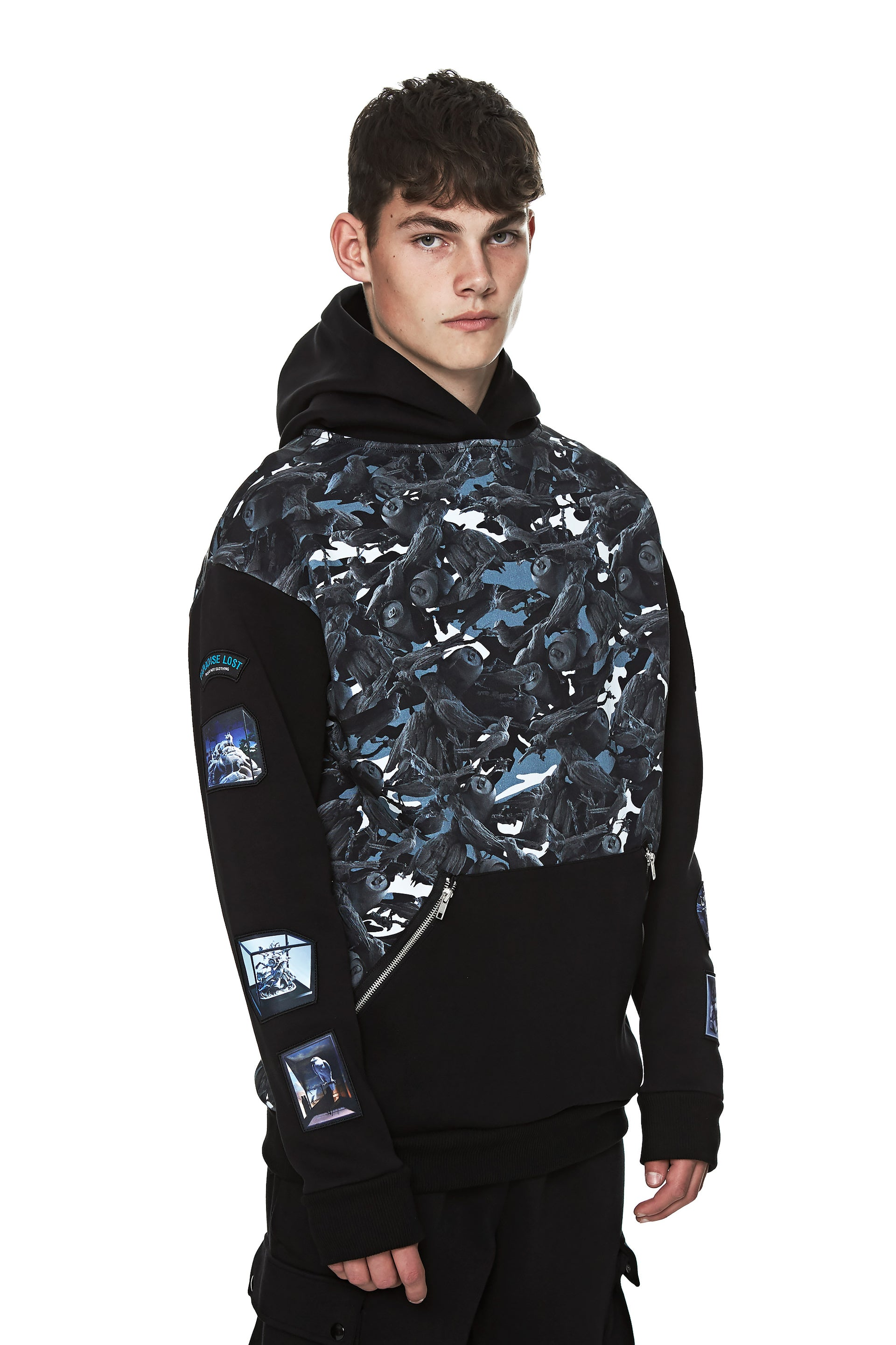 This Is Not Clothing - BIRDS OF PARADISE CAMO HOODIE II