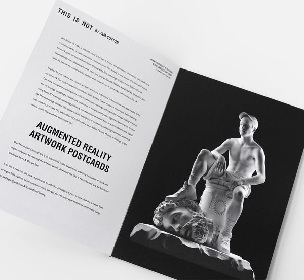 This Is Not Studio - Augmented Reality Artwork Postcard Book