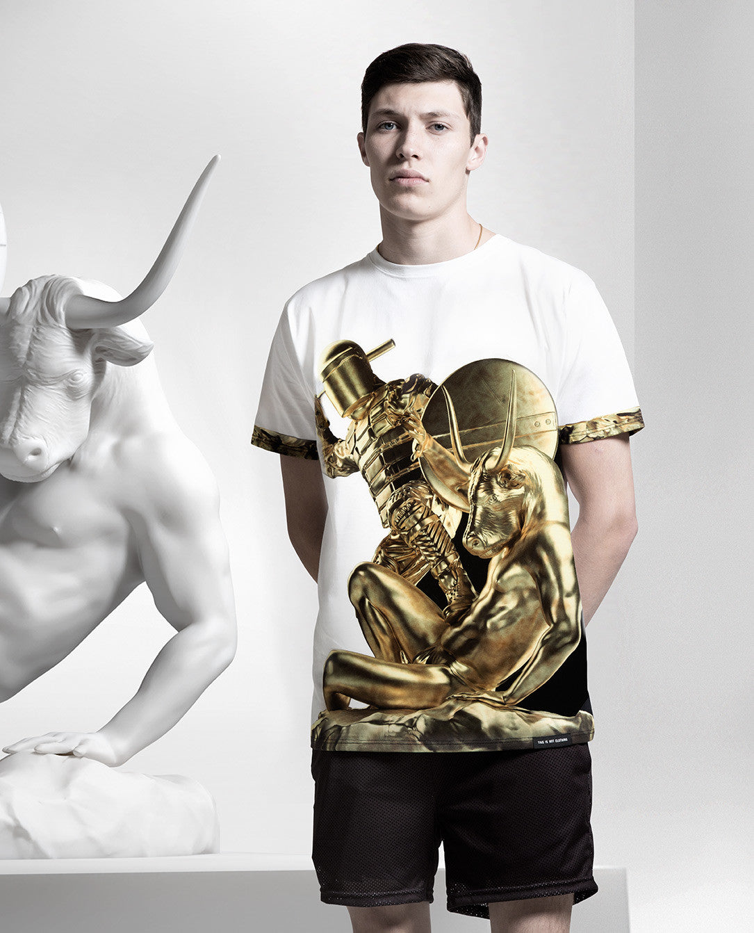 Theseus & The Minotaur Gold