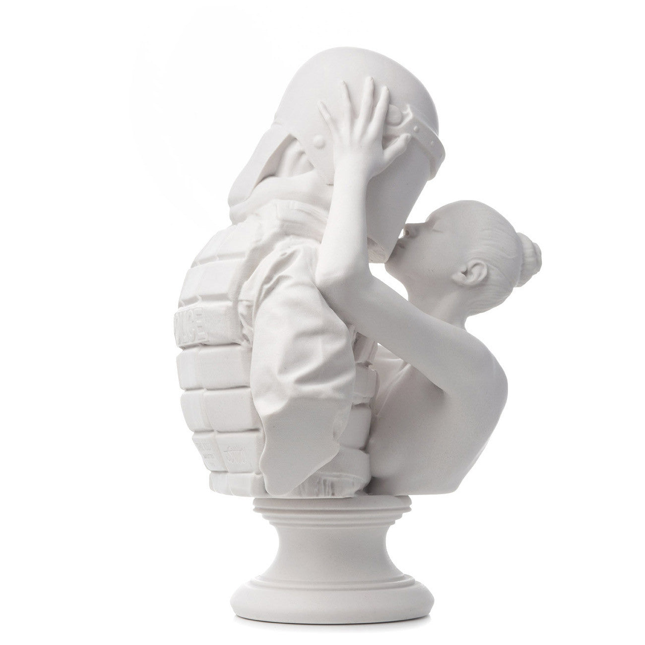 'The Kiss' Marble Sculpture by Jam Sutton