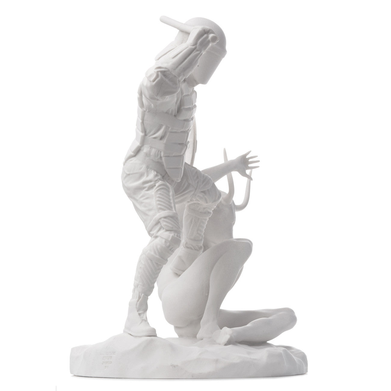 'Theseus & the Minotaur' Limited Edition Marble Sculpture