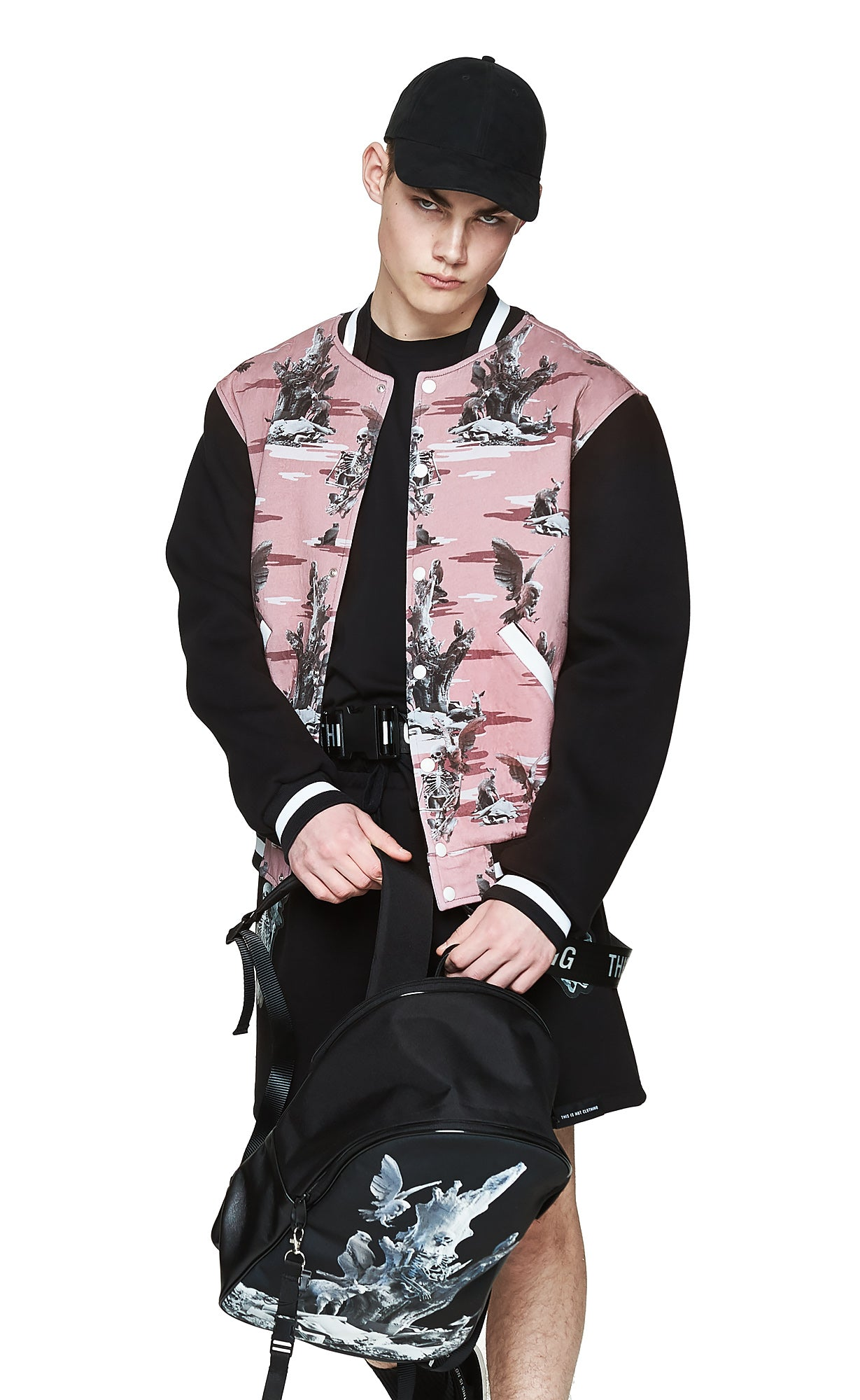 Fall of Paradise Pink Camo Varsity - Designer Brand - This Is Not Clothing – Lookbook Photo 7