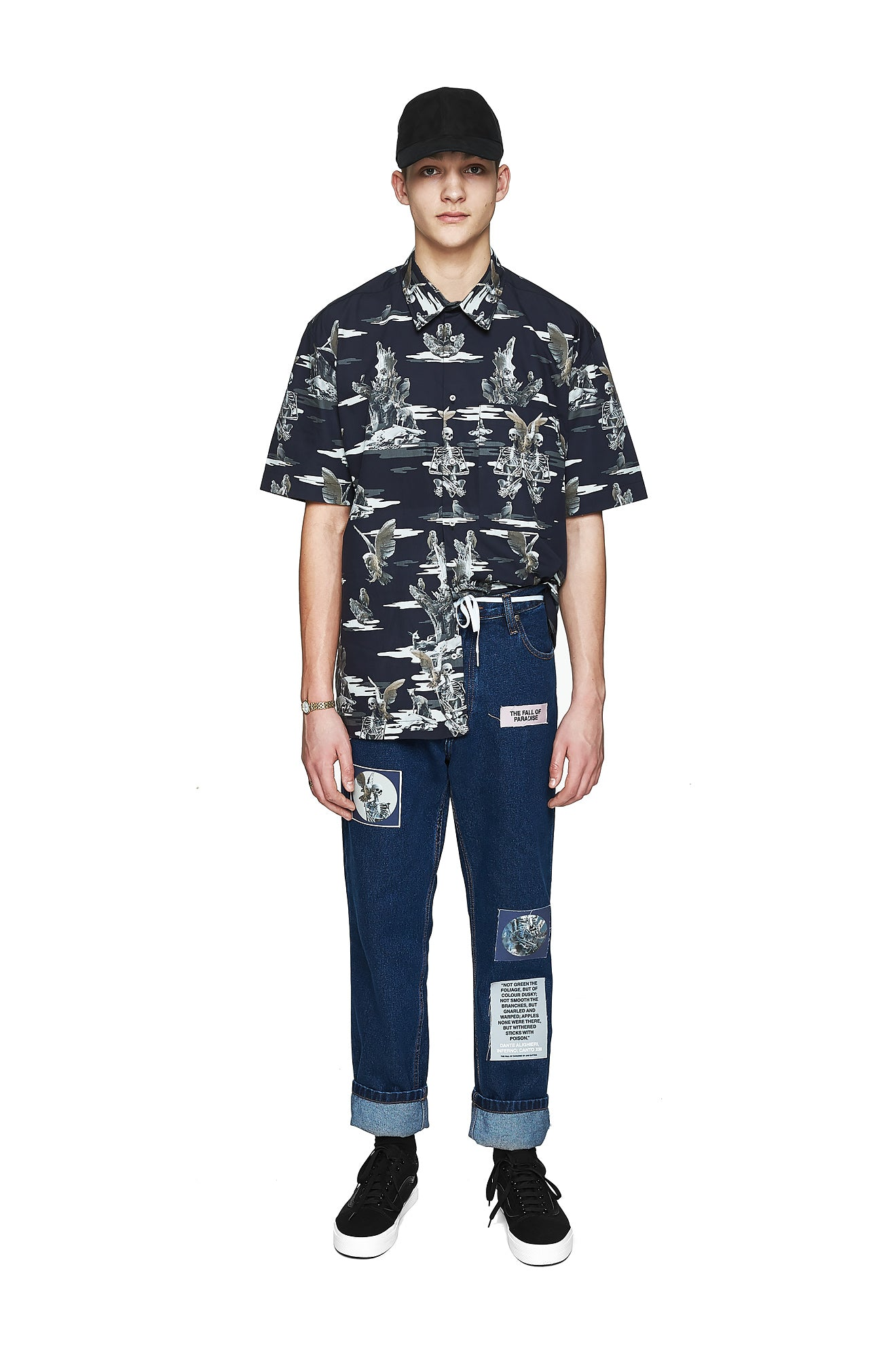 Paradise Camo Shirt - Men's Designer Brand - This Is Not Clothing - Lookbook Photo 1