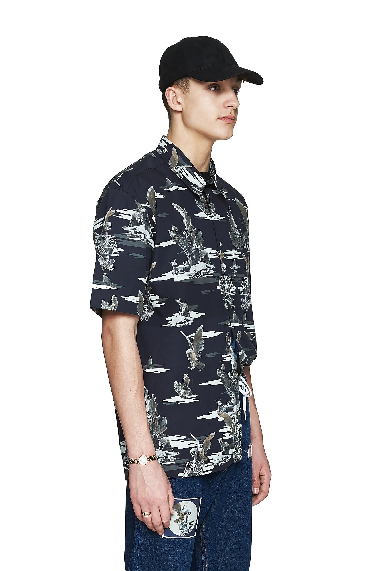 Paradise Camo Shirt - Men's Designer Brand - This Is Not Clothing - Lookbook Photo 2