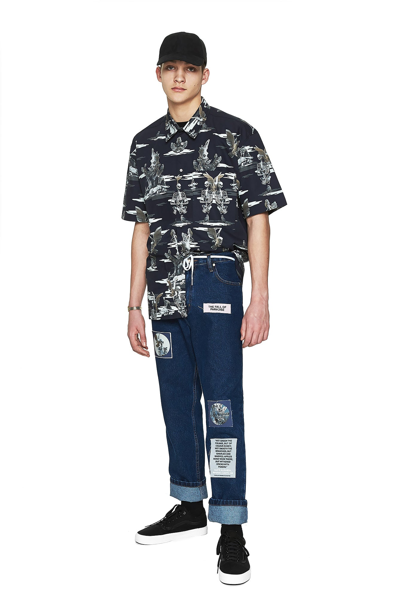 Paradise Camo Shirt - Men's Designer Brand - This Is Not Clothing - Lookbook Photo 4