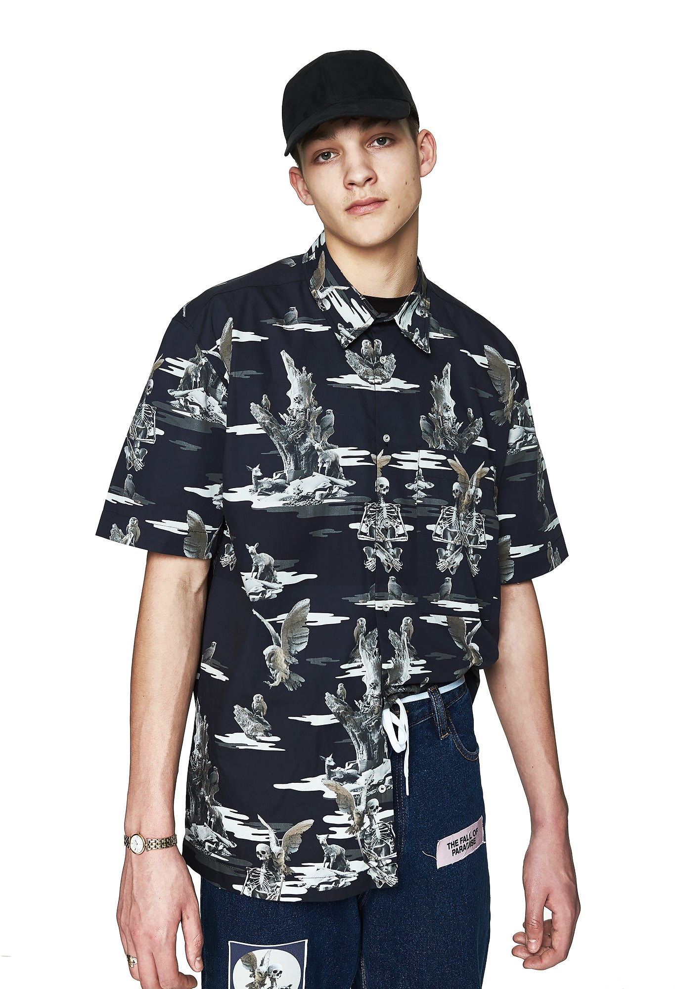 Paradise Camo Shirt - Men's Designer Brand - This Is Not Clothing - Lookbook Photo 5