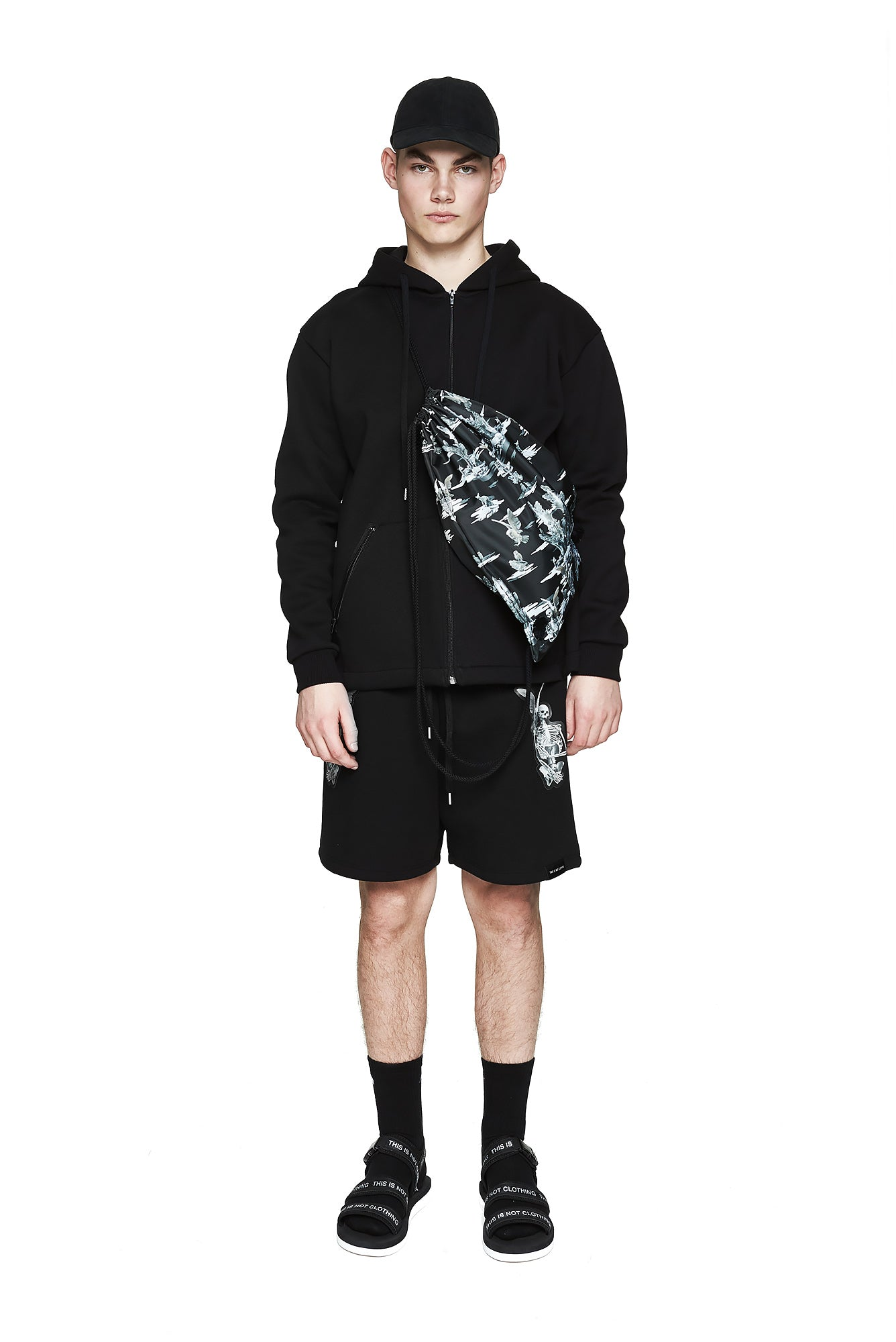 Fall of Paradise Hoodie - Designer Brand - This Is Not Clothing - Lookbook Photo 1