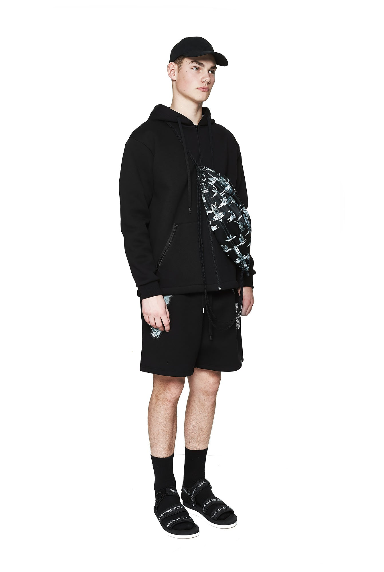 Fall of Paradise Hoodie - Designer Brand - This Is Not Clothing - Lookbook Photo 2