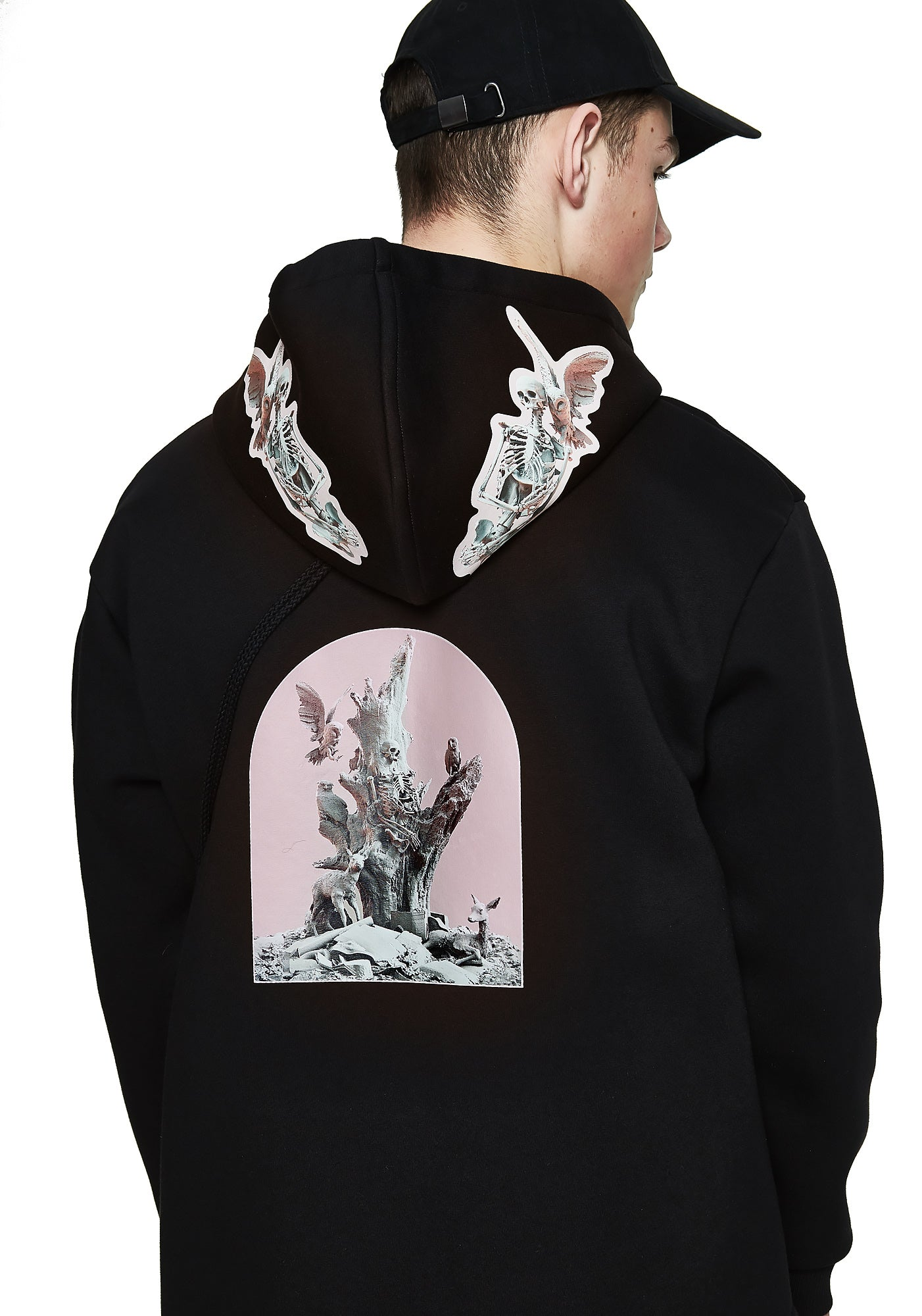 Fall of Paradise Hoodie - Designer Brand - This Is Not Clothing - Lookbook Photo 3