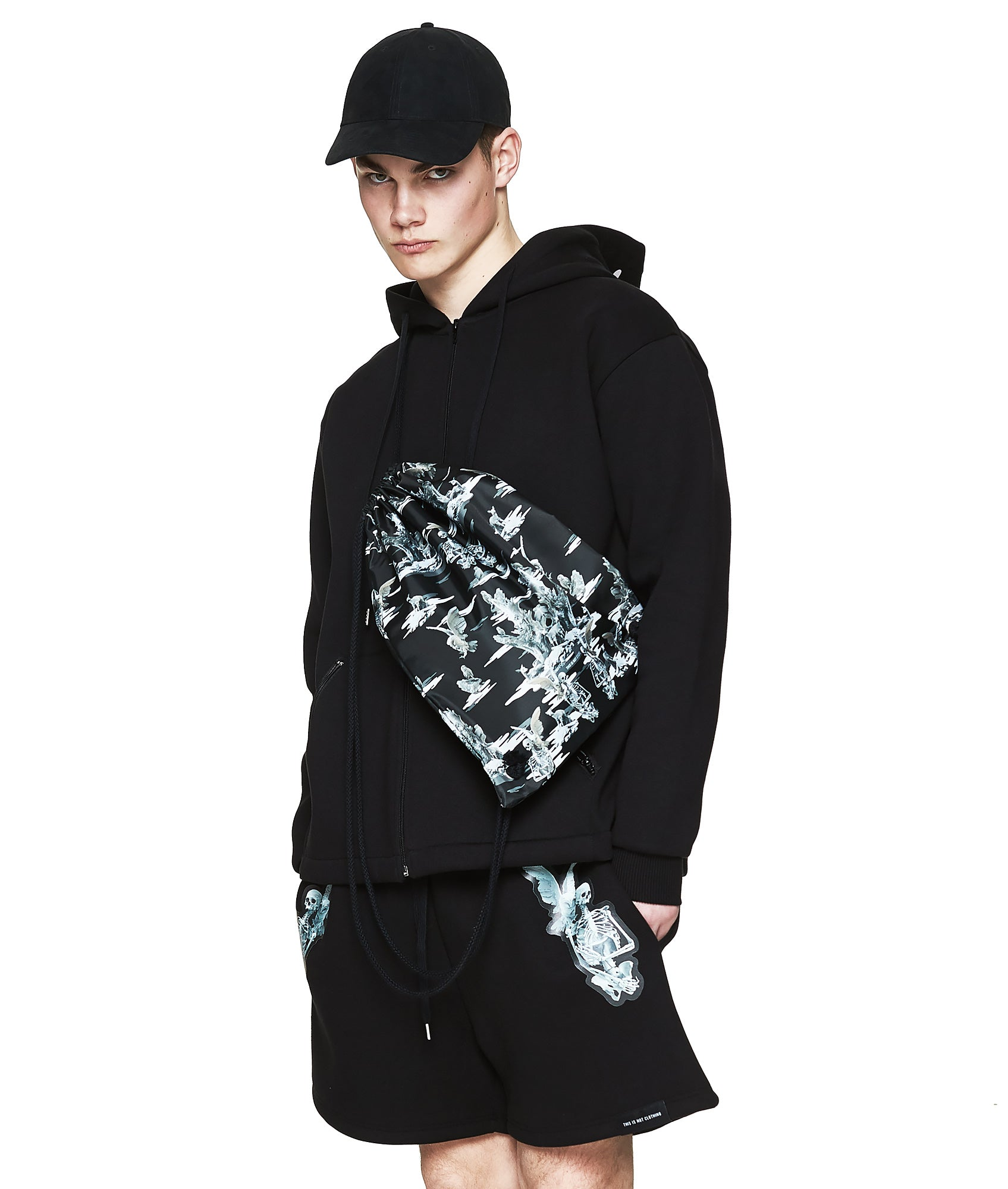 Fall of Paradise Hoodie - Designer Brand - This Is Not Clothing - Lookbook Photo 4