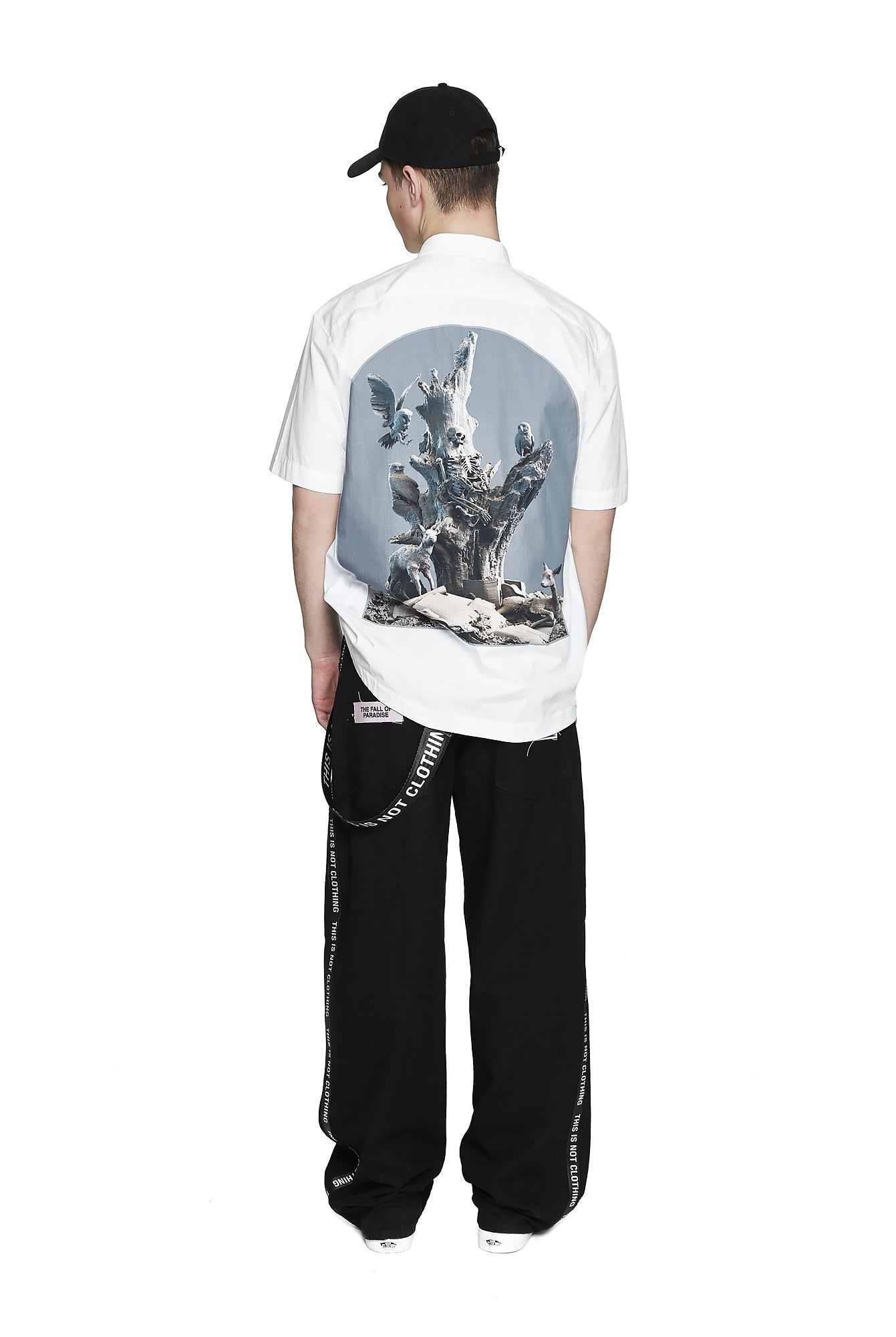 Fall of Paradise Short Sleeve Shirt - Designer Brand - This Is Not Clothing - Lookbook Photo 5