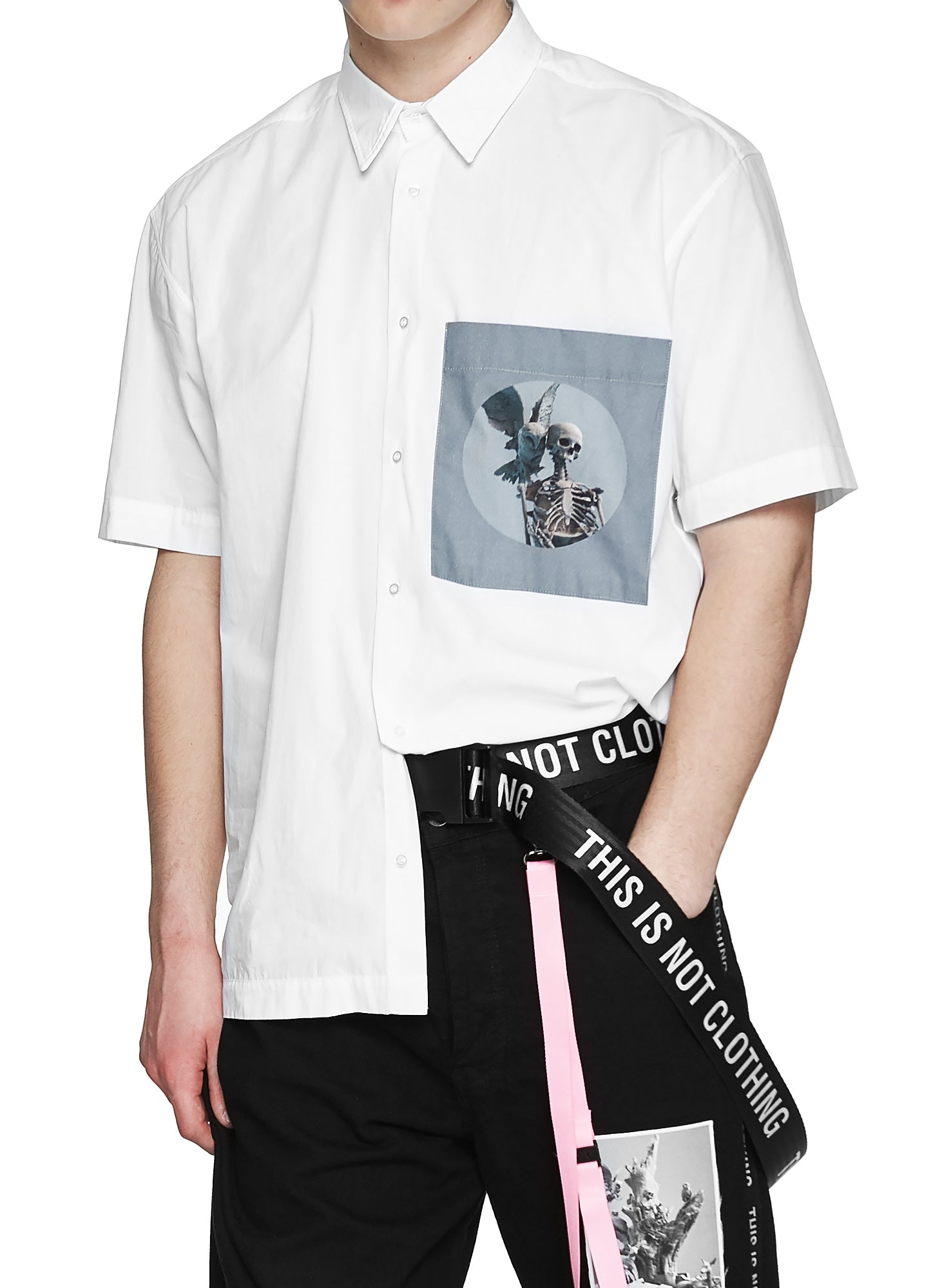 Fall of Paradise Short Sleeve Shirt - Designer Brand - This Is Not Clothing - Lookbook Photo 6