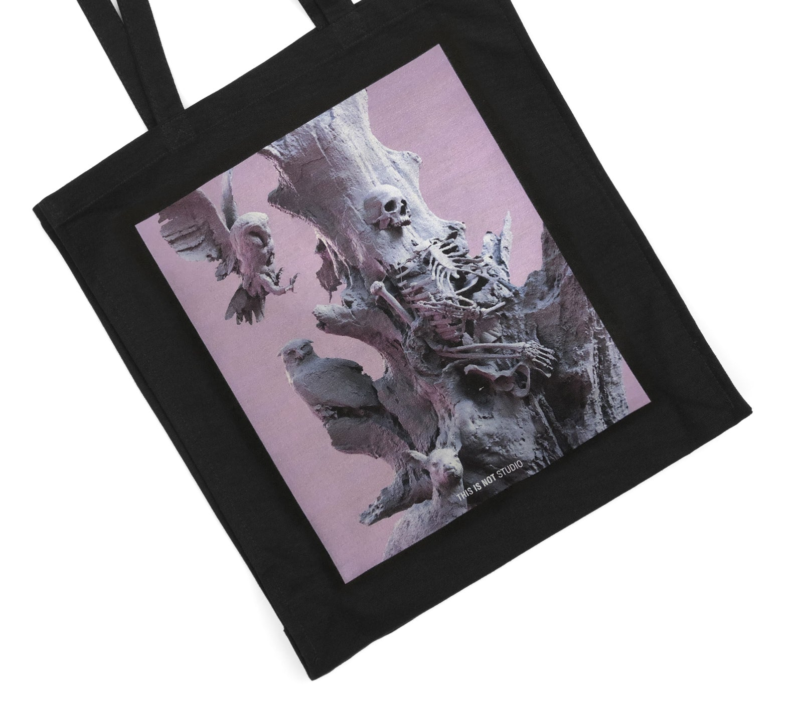 Fall of Paradise - Art Tote Bag - This Is Not Studio - detail