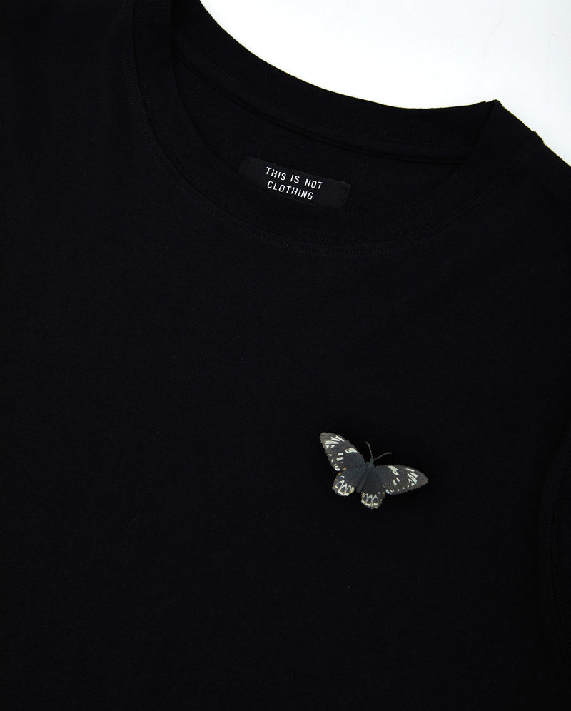 Memento Mori III T-Shirt Black - Designer Brand - This Is Not Clothing
