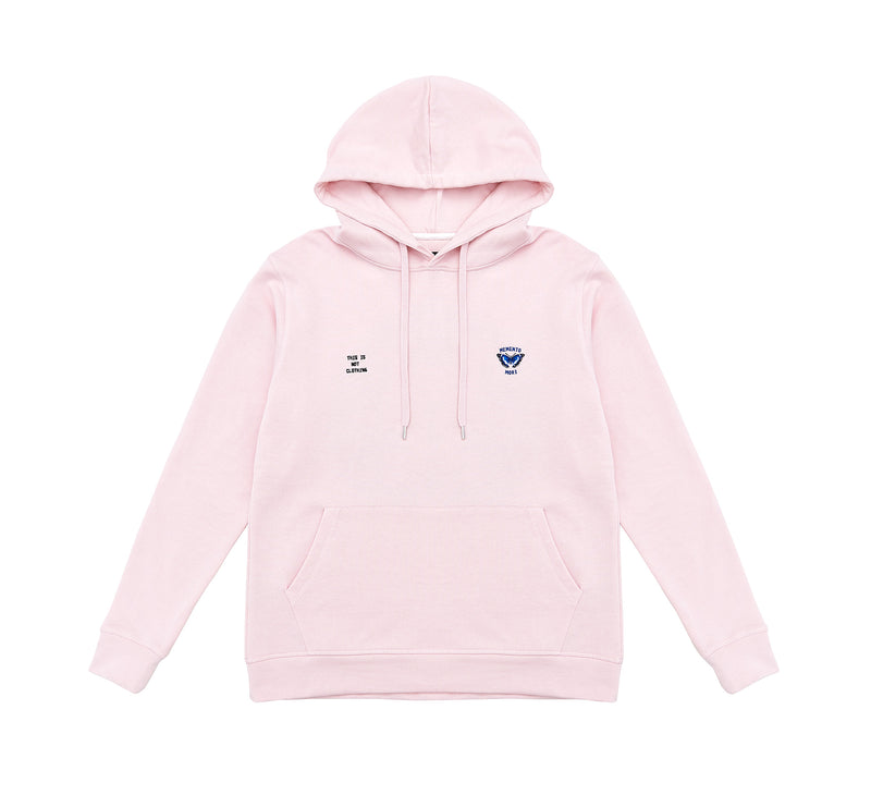 Memento Mori I Hoodie Pink - Luxury Brand - This Is Not Clothing