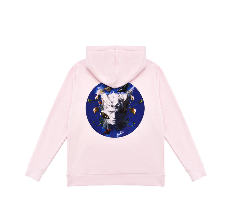 Memento Mori I Hoodie Pink - Luxury Brand - This Is Not Studio