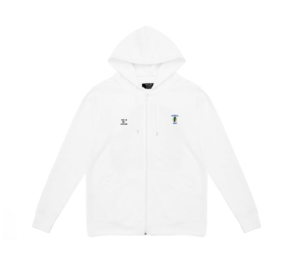 Memento Mori II Hoodie White - Luxury Brand - This Is Not Clothing