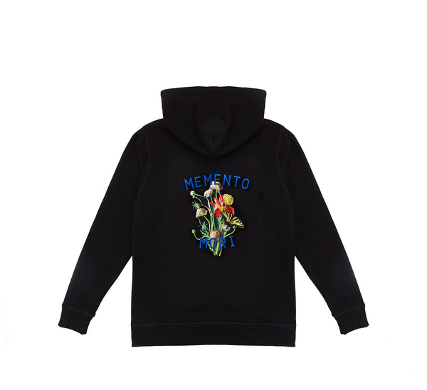 Memento Mori III Hoodie Black - Unisex Brand - This Is Not Clothing
