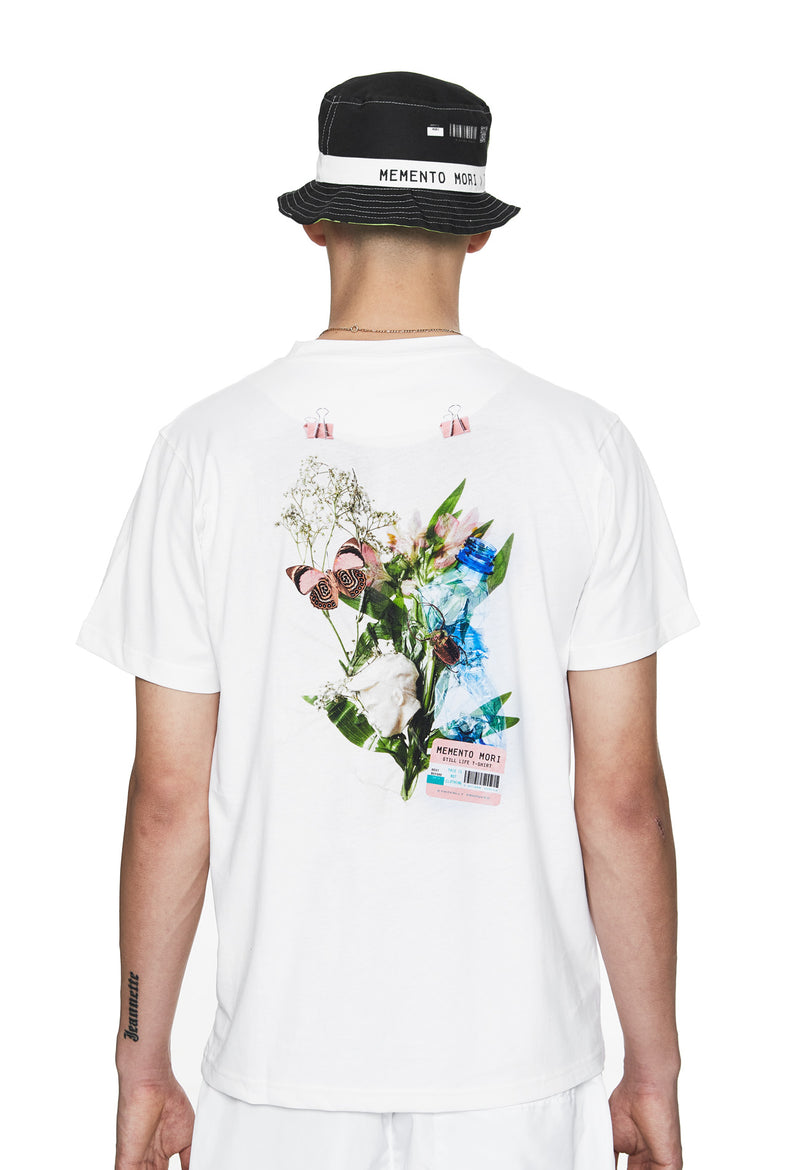 'Memento Mori' I T-Shirt White - Designer Brand - This Is Not Clothing – This Is Not Studio
