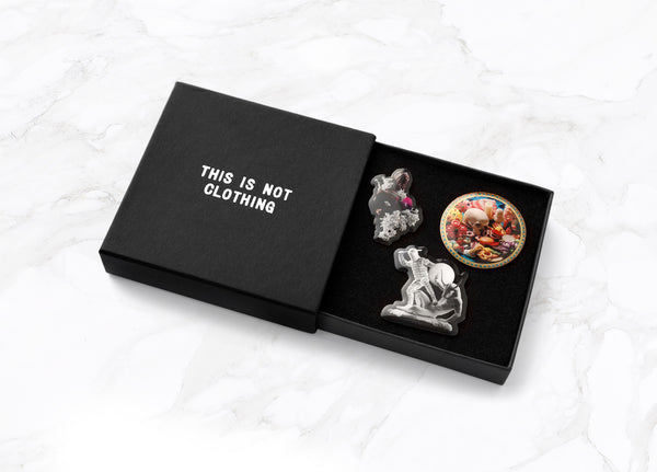 This Is Not Studio - ART PINS - BOX II