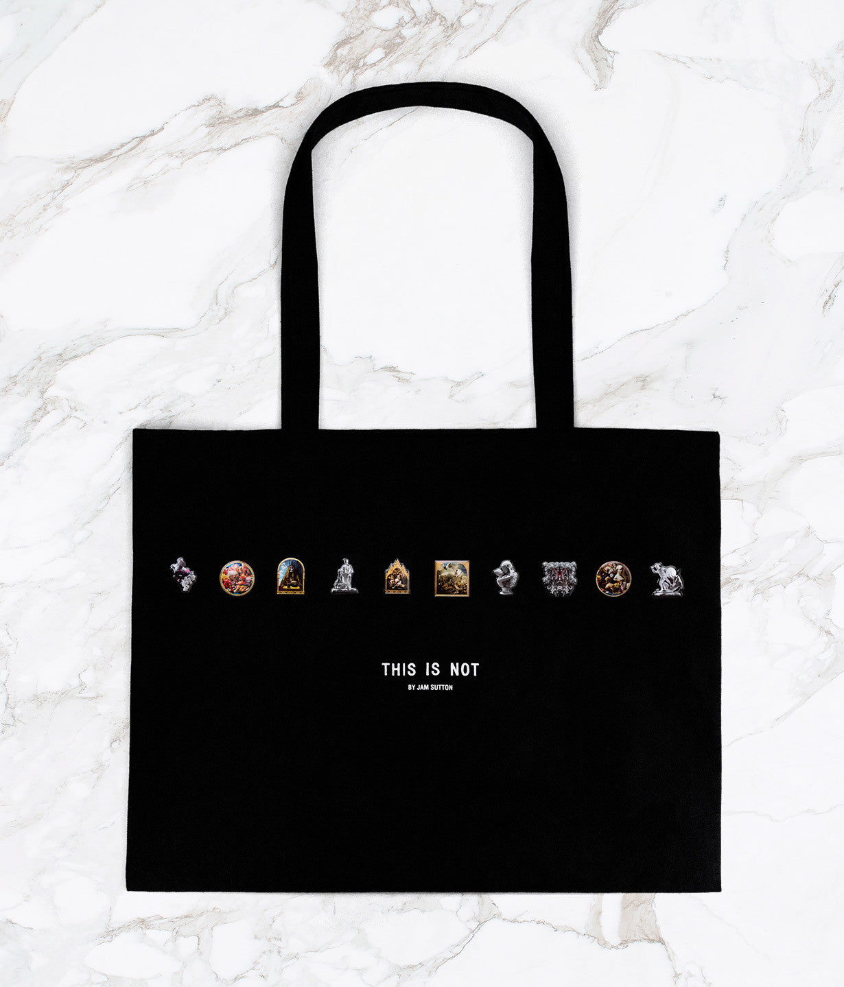 ARTWORK PINS + TOTE BAG