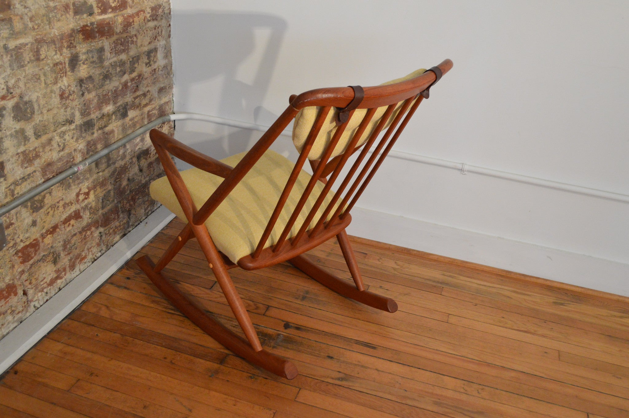 arm and mid the rocking of style modern chair century early in jens creative inside risom