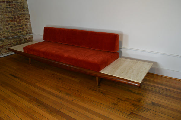 Adrian Pearsall For Craft Associates Gondola Sofa With