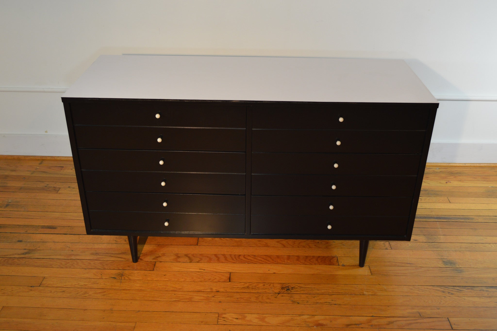 American Of Martinsville Bedroom Furniture American Of Martinsville Dresser Ebonized Black Lacquer