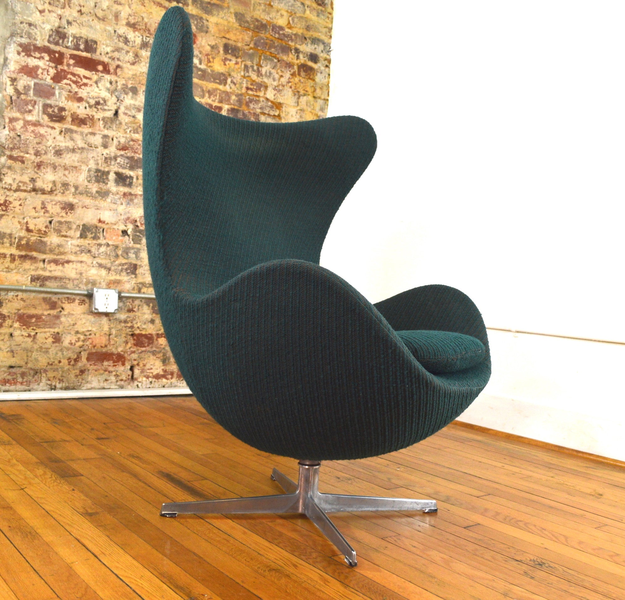 Arne Jacobsen Egg Chair Original Vintage For Fritz Hansen