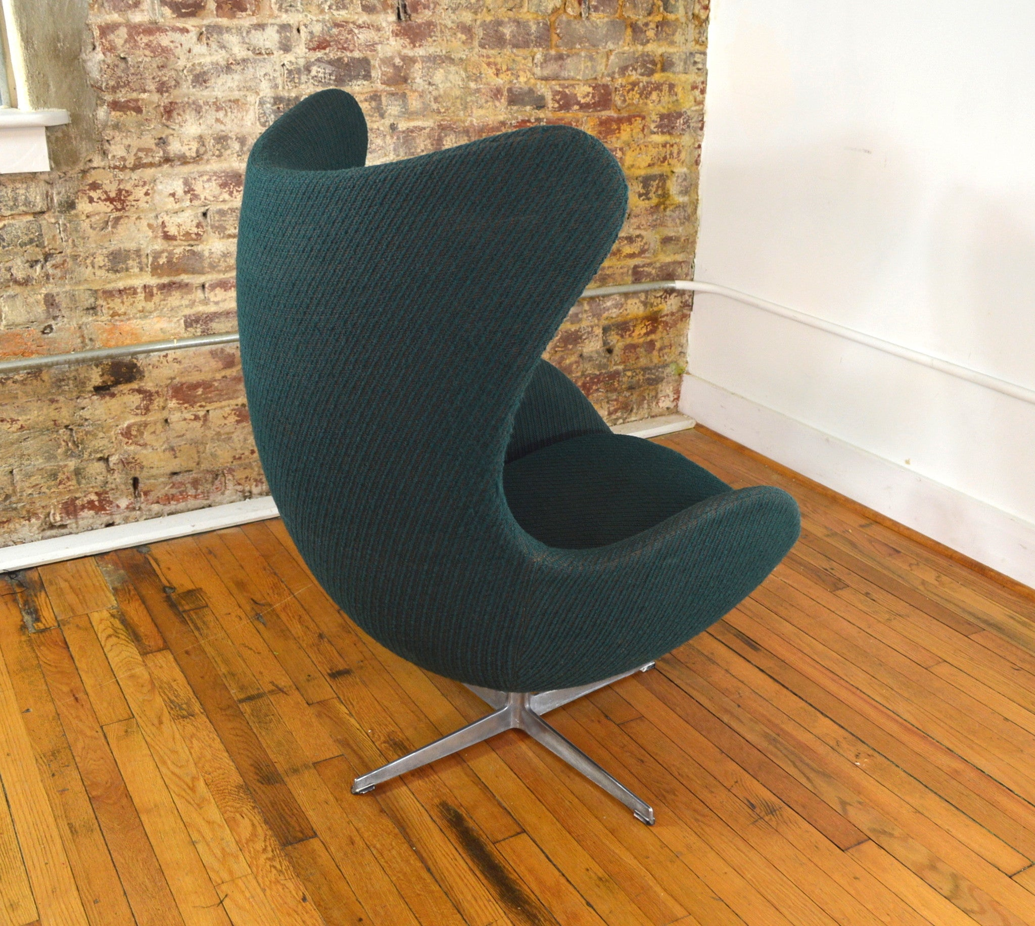 Arne jacobsen egg chair original vintage for fritz hansen for Egg chair original