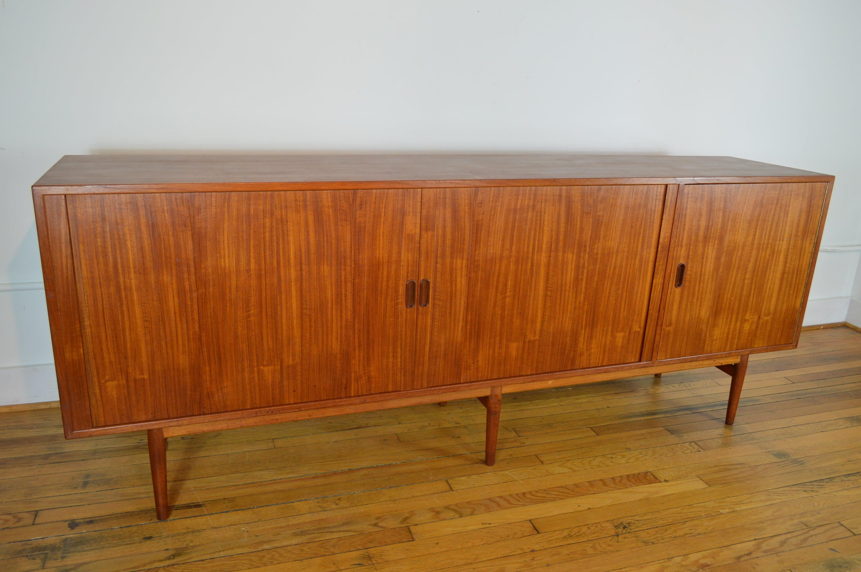 Danish Floating Credenza : Arne vodder for sibast model os danish modern teak credenza