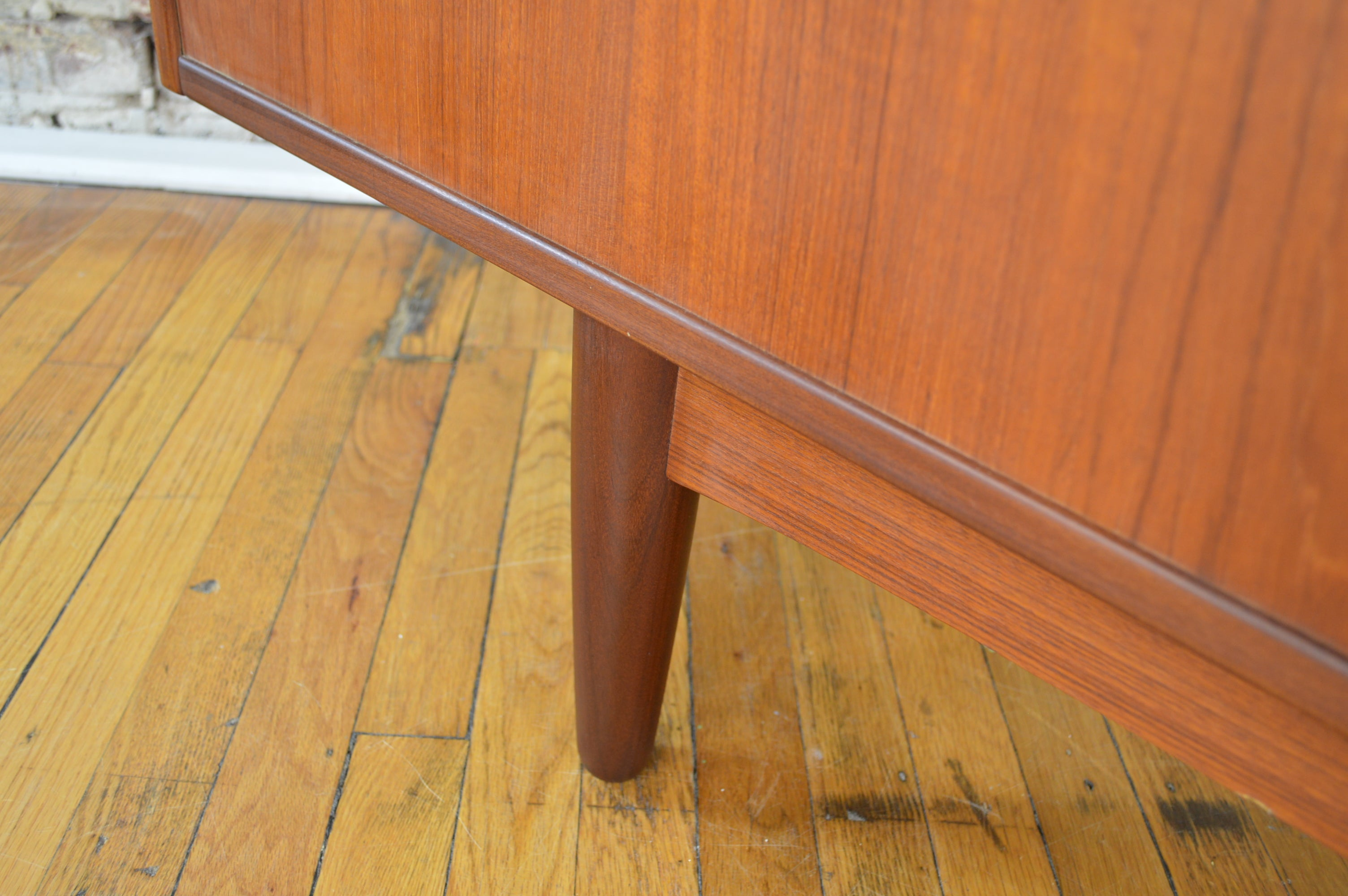 2d47e0543671 Danish Teak Credenza with Exposed Drawers - GalaxieModern