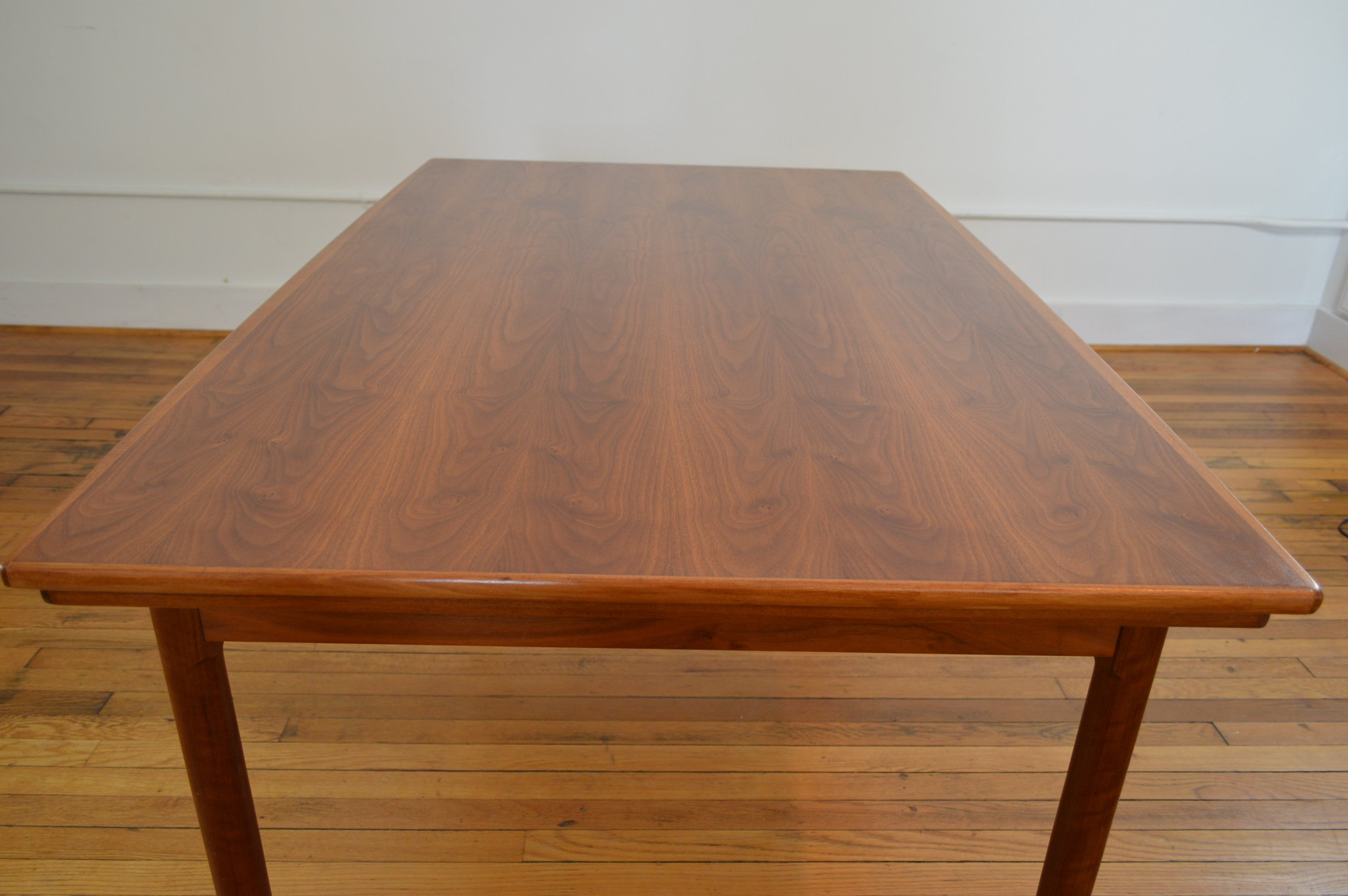 Danish Modern Draw Leaf Dining Table GalaxieModern