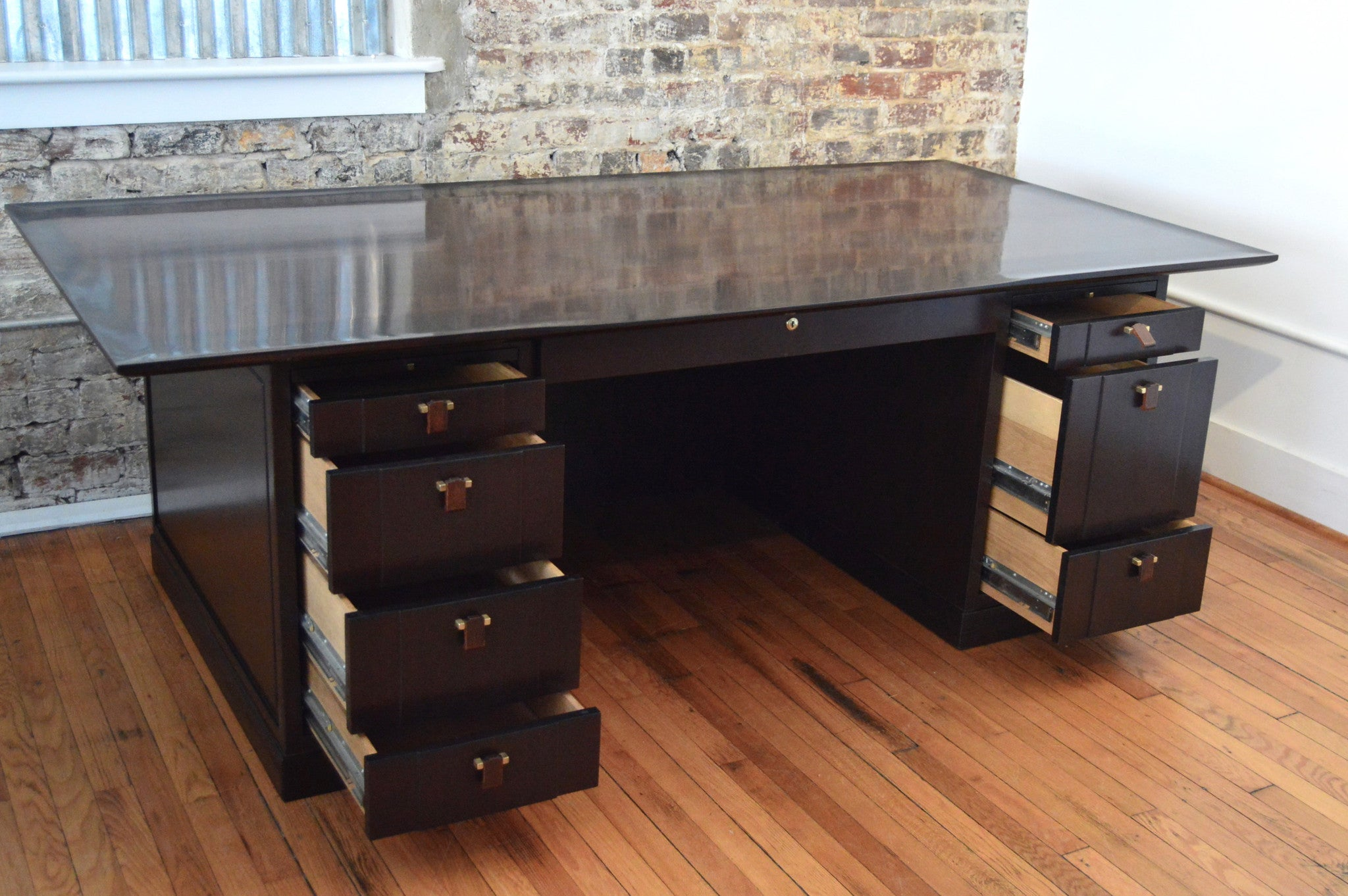Unique Modern Executive Desk Mid Century By Edward Wormley For Dunbar In Inspiration